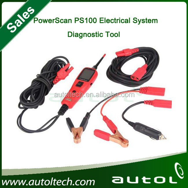 Best Quality PS 100 Electrical System Tester Original Autel Scanner Auto Tools New PS100 Autel Electrical System Diagnostics