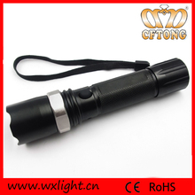 Aluminum High Lumens Zoom Safety LED Geepas Flashlight