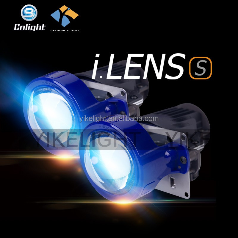 2016 Newest 85000CD Hi low beam ECE approval PC Lens Replace hid glass lens projector headlight golf