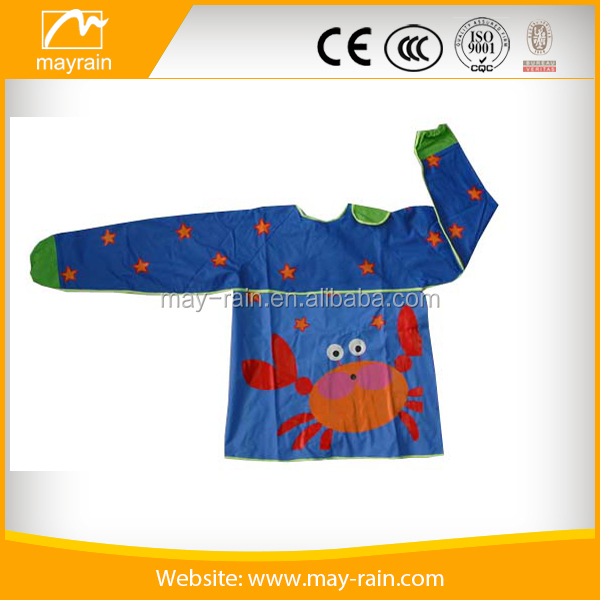 2017 customized children apron kids drawing apron
