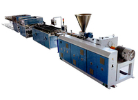 Four Cavity PVC Pipe Extrusion Line