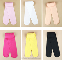 High quality colorful 120D 80D 60D cute flat soft babies kids stockings pantyhose tights