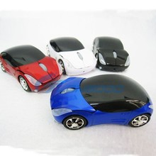 1600dpi 3D USB 2.4GHZ Car Style Wireless Optical Mouse With Usb Mini Receiver