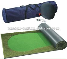 Suntex's DIY portable mini indoor golf putting green mat/carpet