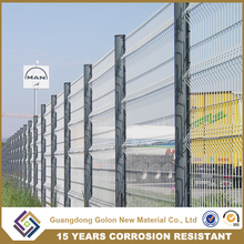 Lowest Price Galvanized metal Welded Wire Mesh Fence Panel (manufacturer)