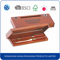 luxury wooden pen gift packaging box wholesale