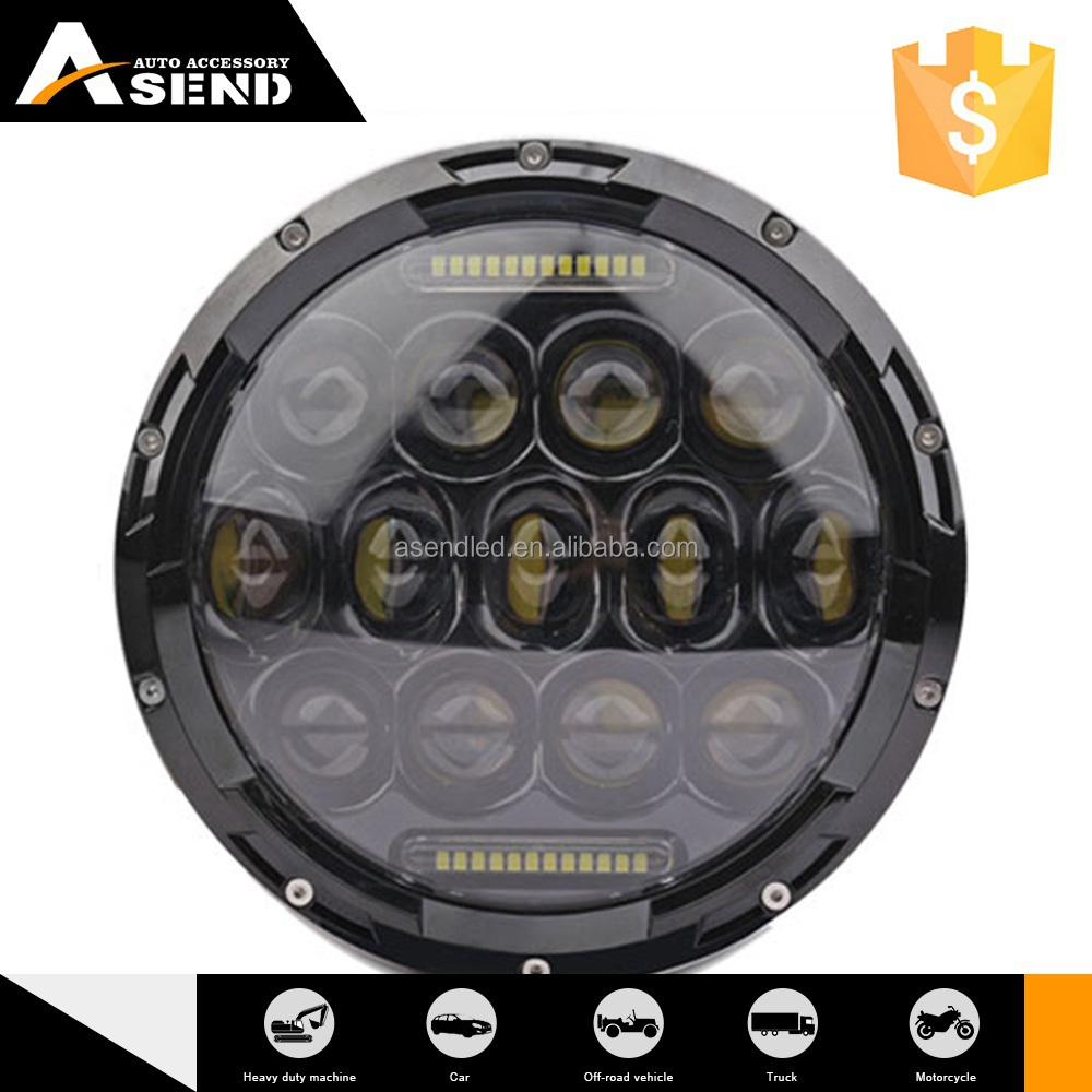 Hottest High Standard Customizable High Brightness Rohs Certified Head Light Black Housing 2012-2014 Year Yz