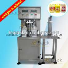 10 litre Weight bulk coconut oil manual Filling Machine