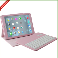 4 Colors Removable Wireless Bluetooth Keyboard Case Cover Stand for Ipad air