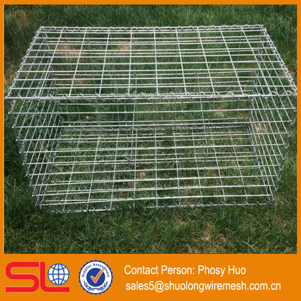 high quality factory supply welded gabion box stone cage