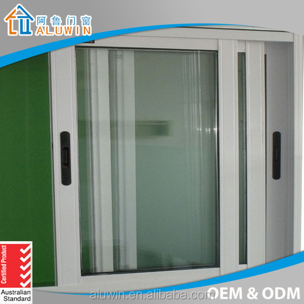3 panel triple tempered glass sliding window for house