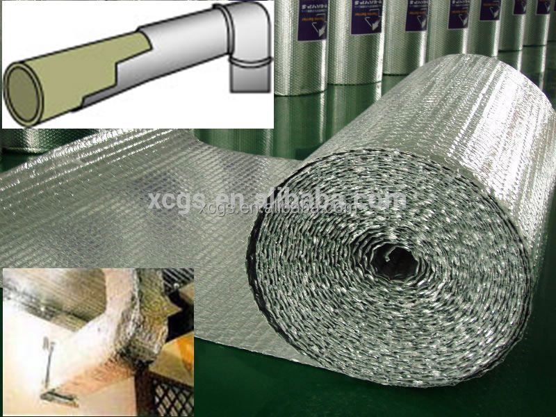 Wall insulation thermal isolation materials