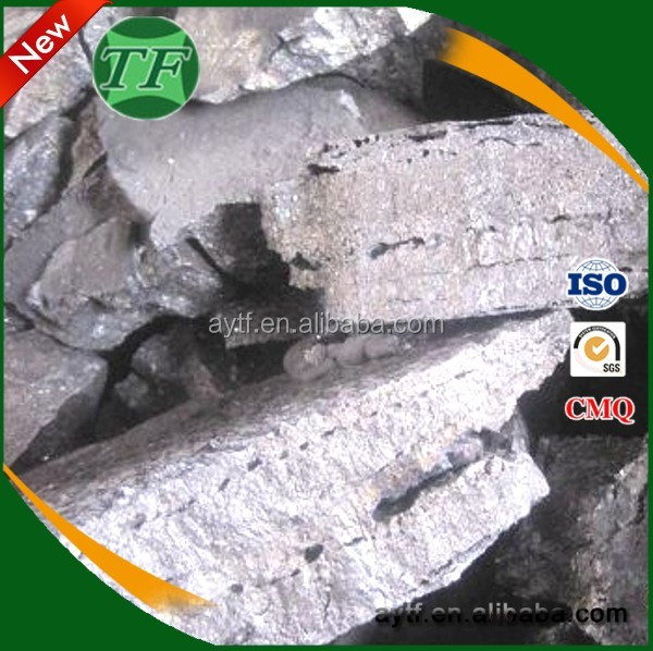 Foundry industry inoculant metal alloy , FeSiMg alloy , ferro silicon magnesium alloy inoculant