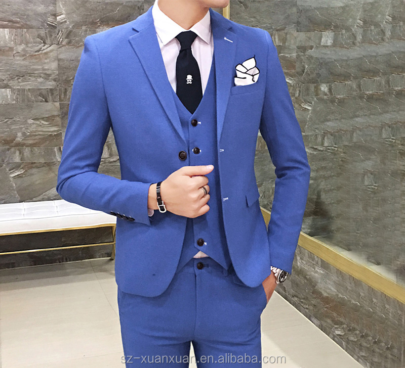 Men wedding coat pant suit with 3pieces for bridgroom and groomsman
