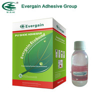 Evergain hot products transparent homemade water based urethane shoe adhesive for shoe repair UK