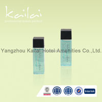 Disposable Shower Hotel Amenities Gel/hotel guest body wash /hotel disposable shower gel in bottle with square cap