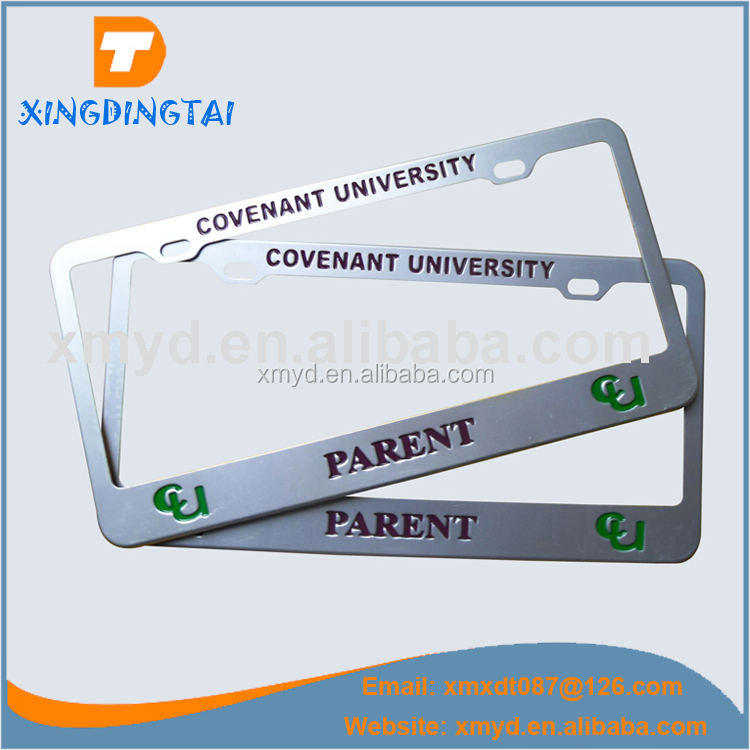 High Quality Metal License Plate Frame Cheap Price