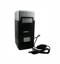 New Arrival Gadget USB Mini Car Fridge Cooler &Warmer