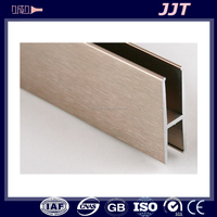 long term durable 6061 t6 industrial aluminium extrusion h profile