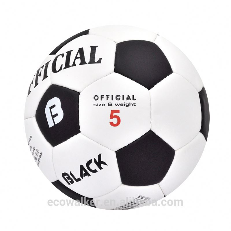 PU hand sewed football soccer ball official size5 cheap football ball
