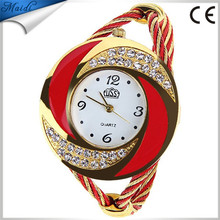 Ladies Korean Style Ladies Quartz Watches Fashion Women Wristwatches Bracelet Bangle Luxury Women Watches WW033