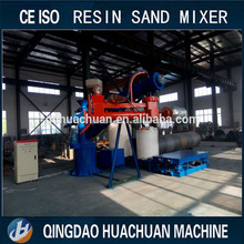 resin sand die casting production line, mobile arms resin sand mixer