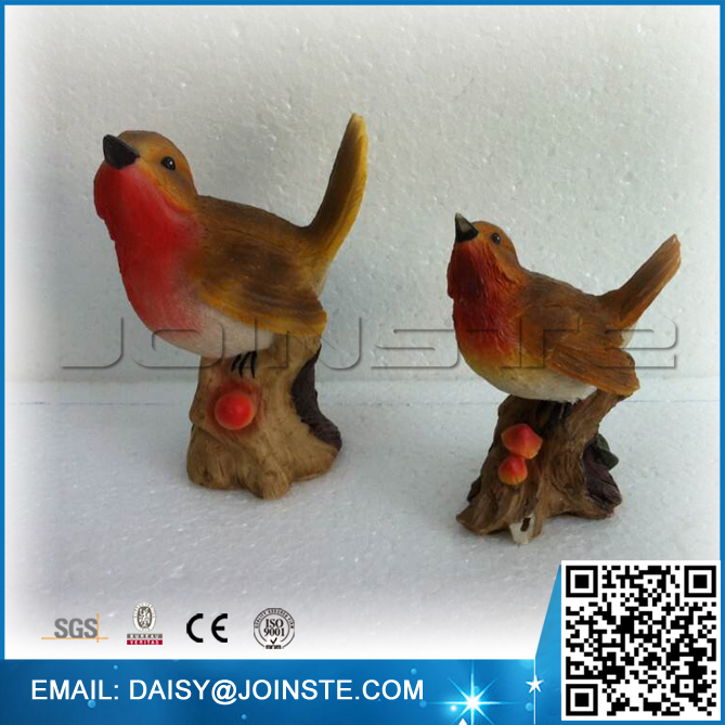 Singing Birds Shaped new design polyresin art