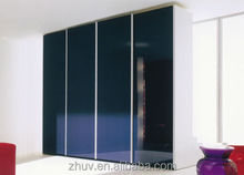 ZH modern design wooden clothes wardrobe