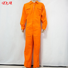 Long sleeve fire resistant boiler suit
