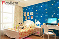Prepasted newest cartoon design self adhesive wallpaper wall decor for kid's room