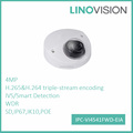 Linovision V series 4MP IPC-VI4541FWD-EIA IVS face detect mini dome IP camera