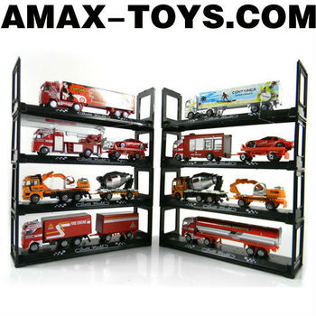 DTS-106294108 toy trucks for sale Emulational Die Cast Trucks Set (8pcs)