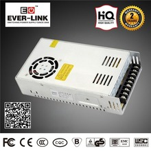 2-year Warranty DC Power Supply CE RoHS Approval Single Output square to round adapter