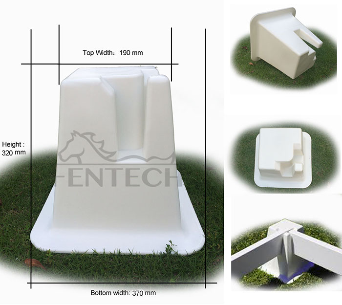 Exclusive sale Fentech Brand Horse Portable and Movable Dressage Arena Cones