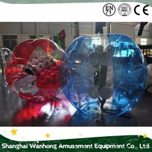 hot sell inflatable bubble football/ zorb ball / bubble soccer ball suit