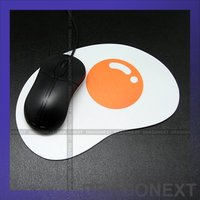 Cute Sunny Side Up Egg Optical PVC Unique Mouse Pad Mat For Mac/PC/Notebook/computer