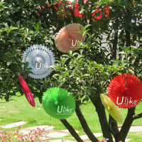 Popular Tissue Paper Fans Ceiling Decoration Inflatable Helicopter Party Decoration