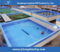 Fibreglass fish tank for aquaculture , FRP fish tank for fish farm