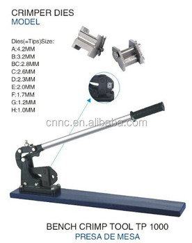 Heavy Duty Bench Crimper for fasten Sleeves