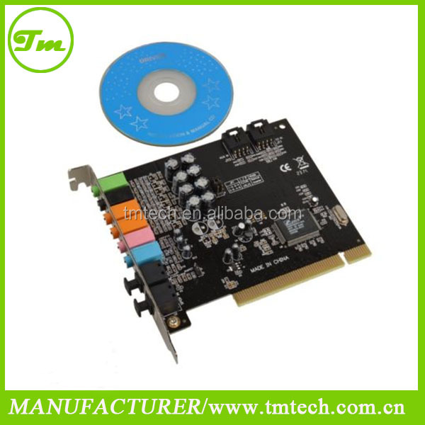 PCI CMI-8768 7.1 channel sound CARD for windows 8.1 32 or 64 BIT