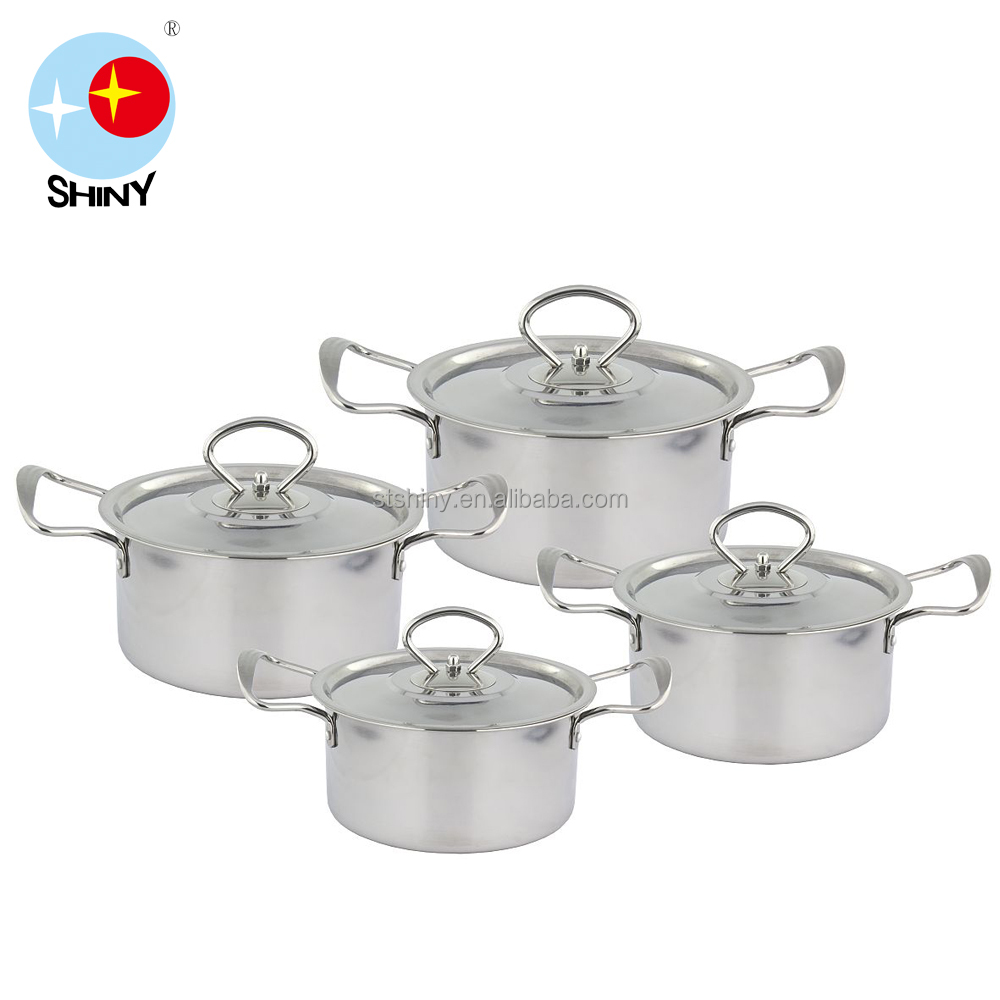 0.42- 0.46mm thickness high strength stainless steel casseroles