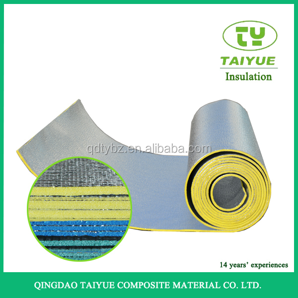 Aluminum foil PE foam heat insulation material/roll/sheet/thermal insulation for roof/wall/floor