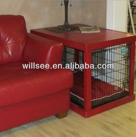 DC-1003,Dog crate with wood cover,dog crate covers pattern
