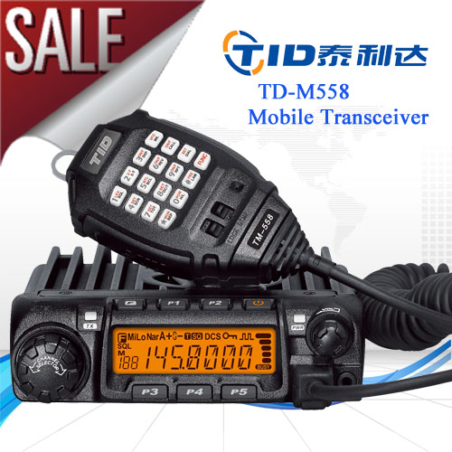 DMTF radio TD-M558 CE Approved tid car radio 155 mhz