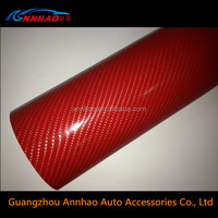 Good Outdoor Duration PVC Material 4d Carbon Fiber Sticker for Car