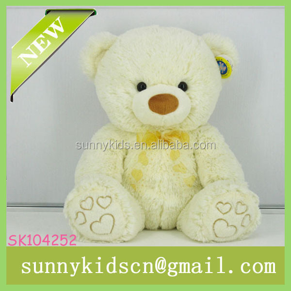 2014 HOT selling pp cotton stuffed toy soft plush bear for plush toy