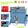 china rotary large size cone printing serigrafia printing machine for sale