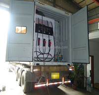 Angola/ Luanda/ Lobito fuel storage tank mobile fueling station from Chinese Factory