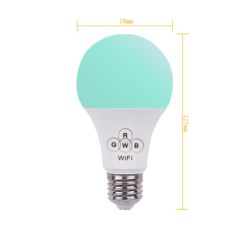 cheap product from china,rgb led music bulb good reputation ip42 with controller control by SmartPhone