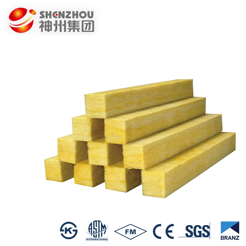 Heat retention material 25mm thickness glass wool board cellulose insulation
